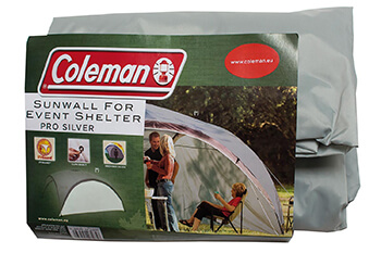 Image of Coleman Event Shelter Pro XL Sunwall (Silver)