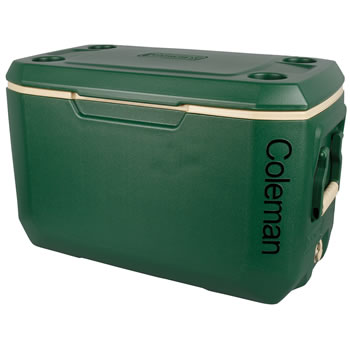 Image of Coleman Cool Box- 70QT Xtreme Cooler Forest Green