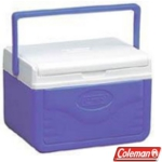 Coleman Cool Box - FlipLid 5QT Cooler Blue