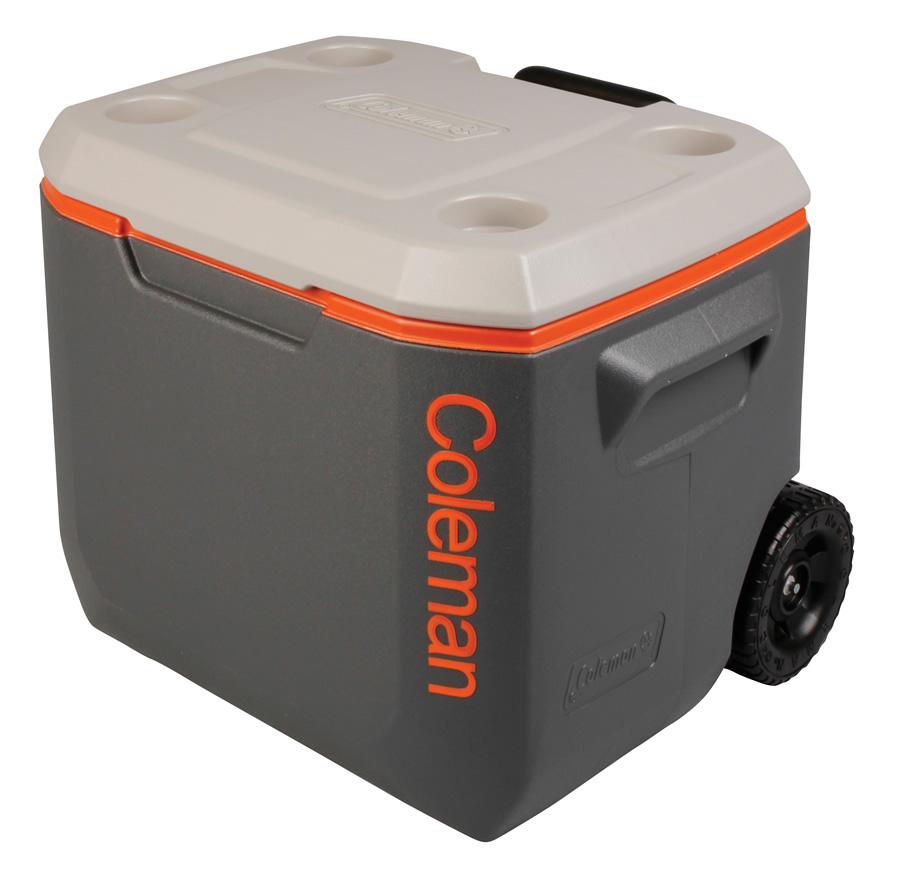 Coleman Cool Box Tri Colour 50qt Xtreme Wheeled Cooler