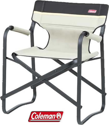 Image of Coleman Deck Chair in Khaki