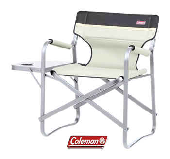 Image of Coleman Deck Chair With table - Khaki