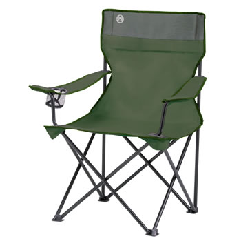 Image of Coleman Quad Chair Green