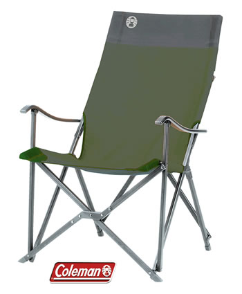Image of Coleman Sling Chair - Green