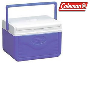 Image of Coleman Cool Box - FlipLid 5QT Cooler Blue