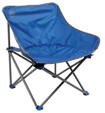 Image of Coleman Kickback Chair - Blue With Spots