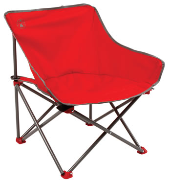 Image of Coleman Kickback Chair - Red