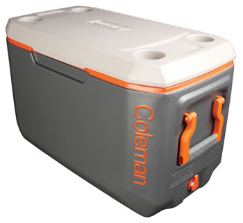 Image of Coleman Cool Box- Tri-Colour 70QT Xtreme Cooler