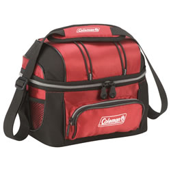 Small Image of Coleman 6 Can Soft Cooler with Removable Hard Liner