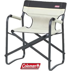 Small Image of Coleman Deck Chair in Khaki