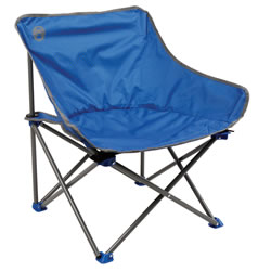 Small Image of Coleman Kickback Chair - Blue With Spots