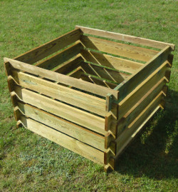 Image of Apollo Wooden Garden Composter