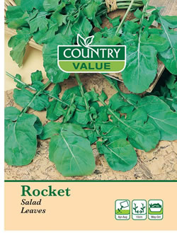 Image of Country Value Rocket Salad Leaves Seeds