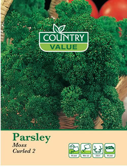 Image of Country Value Moss Curled 2 Parsley Seeds
