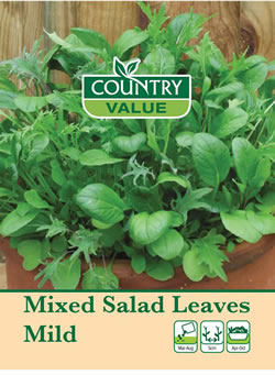 Image of Country Value Mixed Salad Leaves Mild
