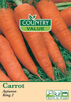 Image of Country Value Autumn King Carrot Seeds