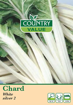 Image of Country Value White Silver 2 Chard Seeds