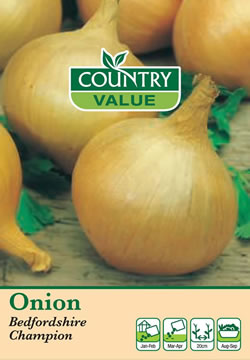 Image of Country Value Bedfordshire Champion Onion Seeds