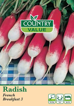 Image of Country Value French Breakfast Radish Seeds