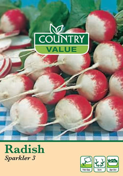 Image of Country Value Sparkler Radish Seeds