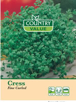 Small Image of Country Value Fine Curled Cress Seeds