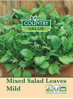Small Image of Country Value Mixed Salad Leaves Mild