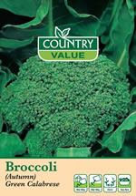 Small Image of Country Value Green Sprouting Calabrese Seeds