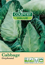 Small Image of Country Value Greyhound Cabbage Vegetable Seeds