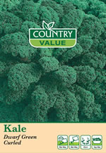 Small Image of Country Value Dwarf Green Curled Kale Seeds