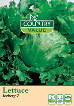 Country Value Iceberg Lettuce Seeds