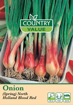 Country Value North Holland Blood Red Spring Onion Seeds