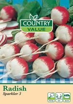 Small Image of Country Value Sparkler Radish Seeds