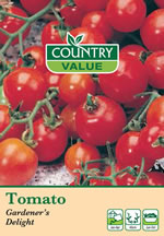 Small Image of Country Value Gardener's Delight Tomato Seeds