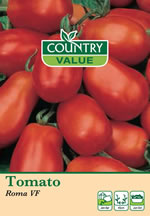 Small Image of Country Value Roma VF Tomato Seeds