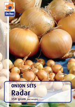 Onion Sets - Radar (Autumn Planting) - 350g