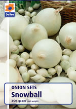 Onion Sets - Snowball (Autumn Planting) -350g