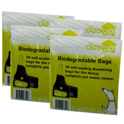 Image of 4 Pack of Doo-Up Bags - Refill Set