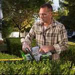 Extra image of Ego Power 56v Lithium-Ion Cordless Hedge Trimmer Without Battery