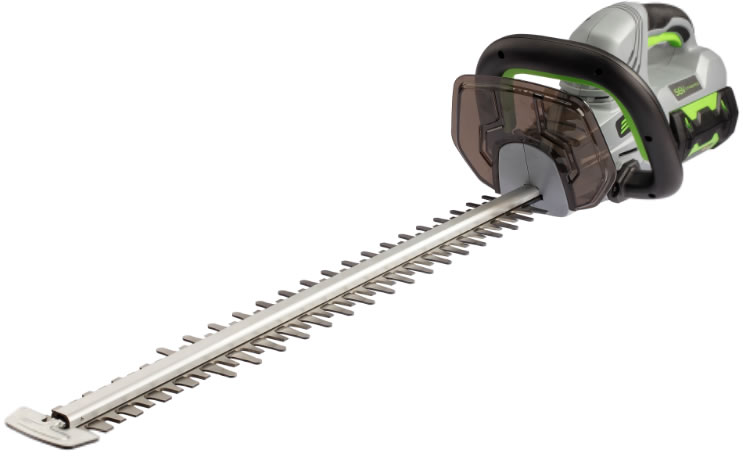 Power Hedge Trimmer : Ego power v lithium ion cordless hedge trimmer without