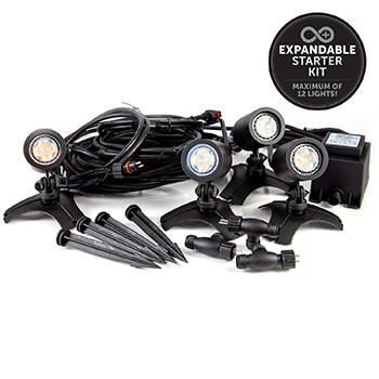 Image of Ellumiere 4 x Small Spotlight Starter Kit