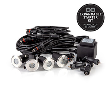 Image of Ellumiere 4 x Small Deck Light Starter Kit