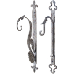 Small Image of Aged Metal Hook - Single