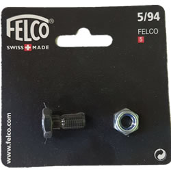 Small Image of Replacement Felco Nut & Bolt Set for Felco No. 5