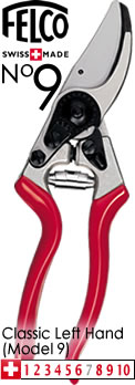 Image of Felco Left Handed Secateurs 9 (Classic L/H) -30L133