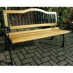 Horninglow 2 Seater Cast Iron Garden Bench