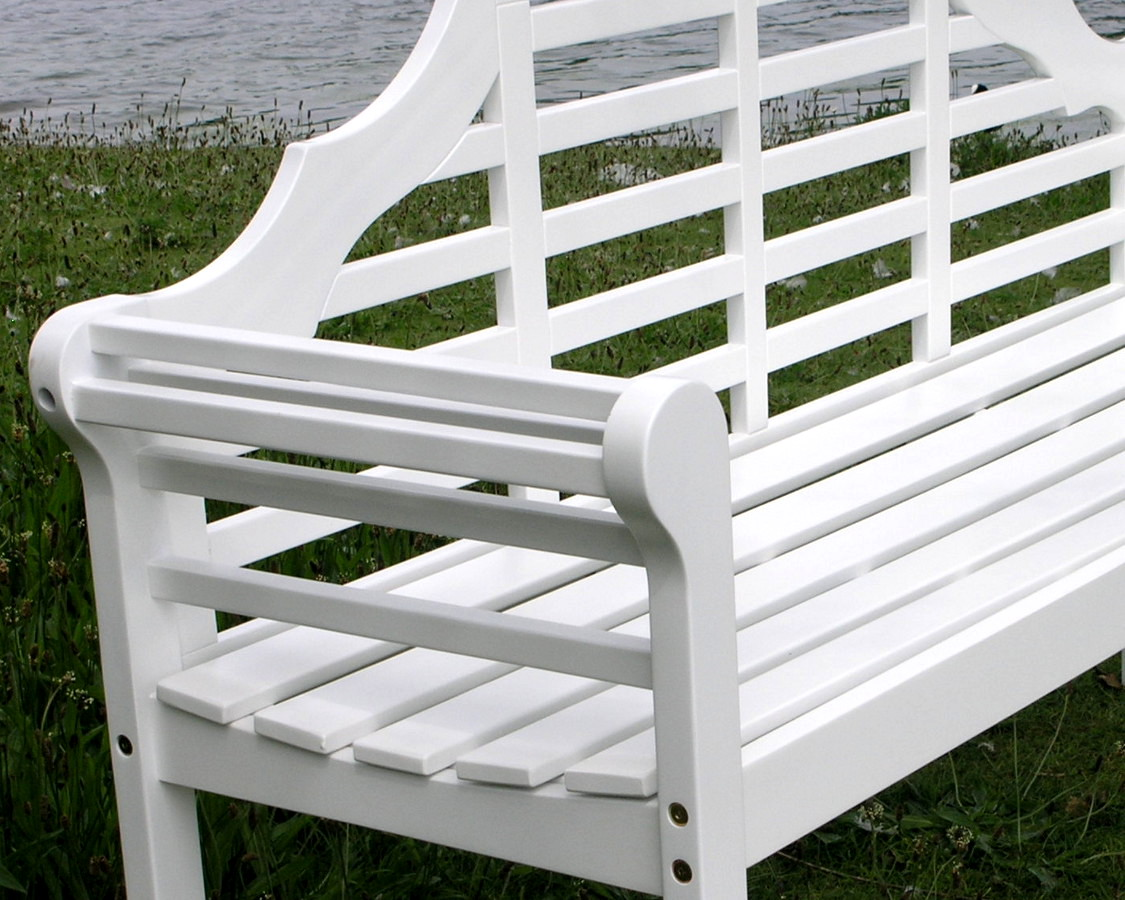 White lutyens garden bench 28 images outdoor garden benches in painted mahogany or teak buy Lutyens bench