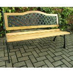 Melbourne 2 Seater Cast Iron Garden Bench