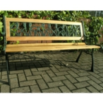 Rolleston Tulip 2 Seater Cast Iron Garden Bench