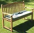 Westminster 3-Seater Curved Back Garden Bench