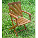 Hardwood Carlisle Folding Armchair